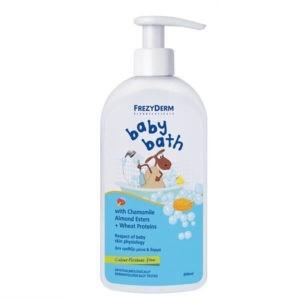 Σαμπουάν - Αφρόλουτρα Βρεφικά Frezyderm – Baby Bath Βρεφικό Αφρόλουτρο – 300ml