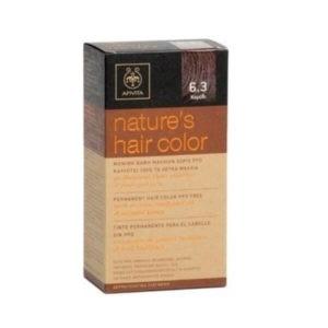 Woman Apivita Nature's Hair Color N6.3 Walnut – 50ml