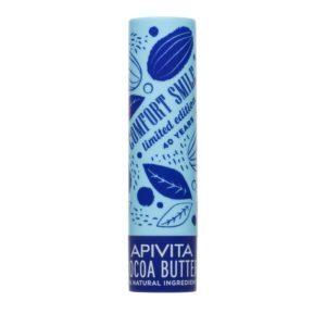 Γυναίκα Apivita – Limited Lip Care με Βούτυρο Κακάο SPF20 – 4.4gr