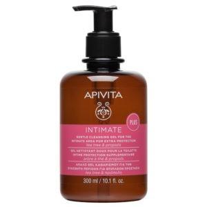 Εγκυμοσύνη - Νέα Μαμά Apivita Intimate Gel Plus Καθαριστικό για την Ευαίσθητη Περιοχή με Tea Tree & Πρόπολη 300ml