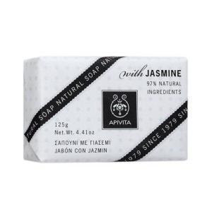 Γυναίκα Apivita Natural Soap Σαπούνι με Γιασεμί 125gr