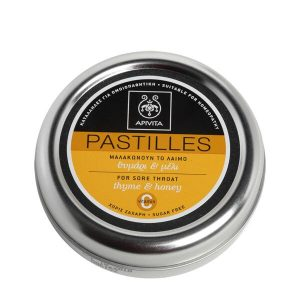 Άνοιξη Apivita Pastilles Παστίλιες με Θυμάρι & Μέλι – 45gr