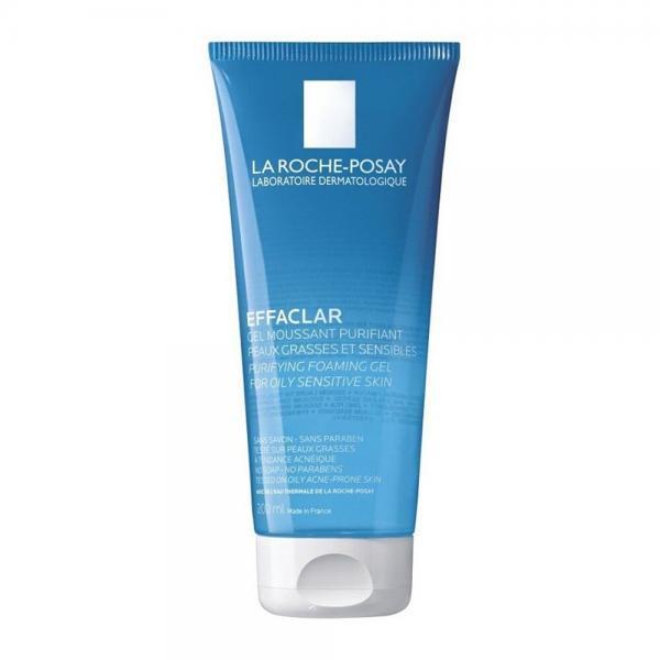 Γυναίκα La Roche Posay – Effaclar – Απαλό Gel Καθαρισμού Προσώπου Για το Ευαίσθητο, Λιπαρό ή Ακνεϊκό Δέρμα – 200ml