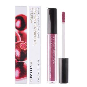 Γυναίκα Korres Morello Voluminous Lipgloss με Εξαιρετική Λάμψη & Γεμάτο Χρώμα No27 Berry Purple 4ml