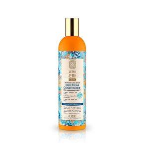 Περιποίηση Μαλλιών-Άνδρας Natura Siberica Oblepikha Conditioner Κρέμα Μαλλιών για Αδύναμα και Ταλαιπωρημένα Μαλλιά – 400ml