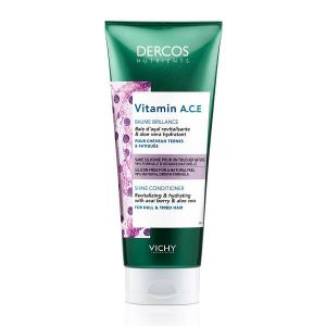 Άνδρας Vichy Dercos Nutrients – Vitamin A.C.E. Conditioner Λάμψης για Θαμπά & Άτονα Μαλλιά – 200ml