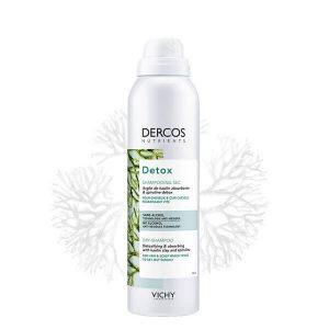 Γυναίκα Vichy Dercos Nutrients Detox – Ξηρό Σαμπουάν Μαλλιών – 150ml