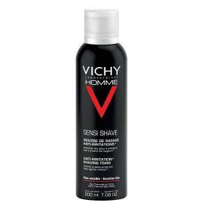 Περιποίηση Προσώπου-Άνδρας Vichy Homme Sensi Shave Αφρός Ξυρίσματος κατά των Ερεθισμών – 200ml