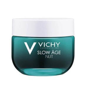 Γυναίκα Vichy Slow Age Κρέμα & Μάσκα Νύχτας που Προλαμβάνει & Αντιμετωπίζει τα Σημάδια Γήρανση – 50ml