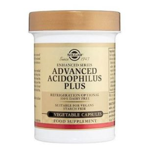 Αντιμετώπιση Solgar – Advanced 40+ Acidophilus Σκεύασμα προβιοτικών για την καλή λειτουργία του εντέρου ειδικά σχεδιασμένο για ανθρώπους ηλικίας άνω των 40 ετών 60 veg.caps