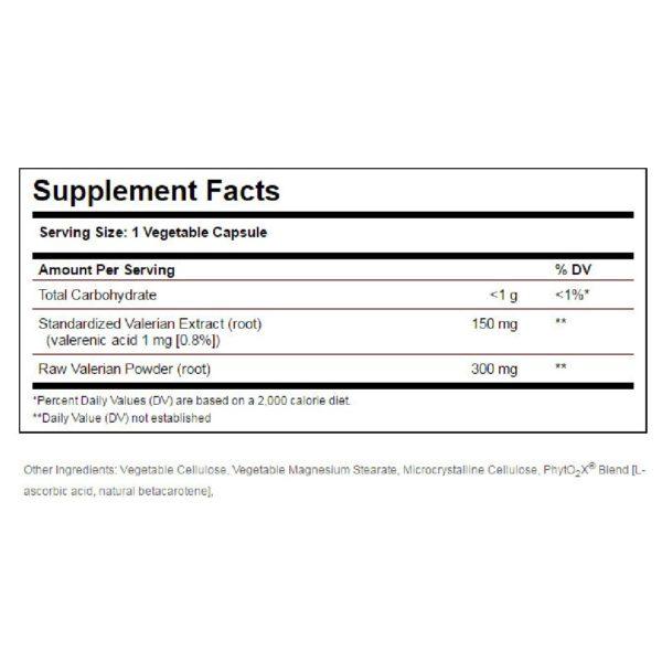 Άγχος - Στρες - Χαλάρωση Solgar – Εκχύλισμα Βαλεριάνας Φυσικό Ηρεμηστικό Χρήσιμο για την Αϋπνία, την Ανησυχία & την Συναισθηματική Κατάπτωση χωρίς τις Παρενέργειες των Ηρεμιστικών Φαρμάκων – 100 veg.caps
