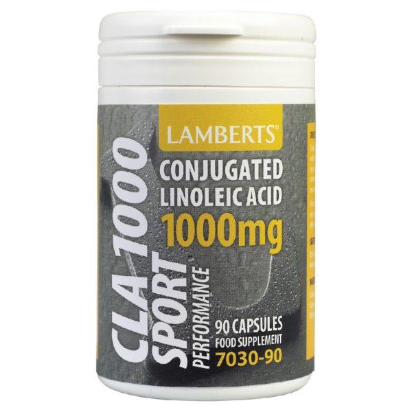 Δίαιτα - Έλεγχος Βάρους Lamberts – Συζευγμένο Λινολεϊκό Οξύ 800mg – 90caps