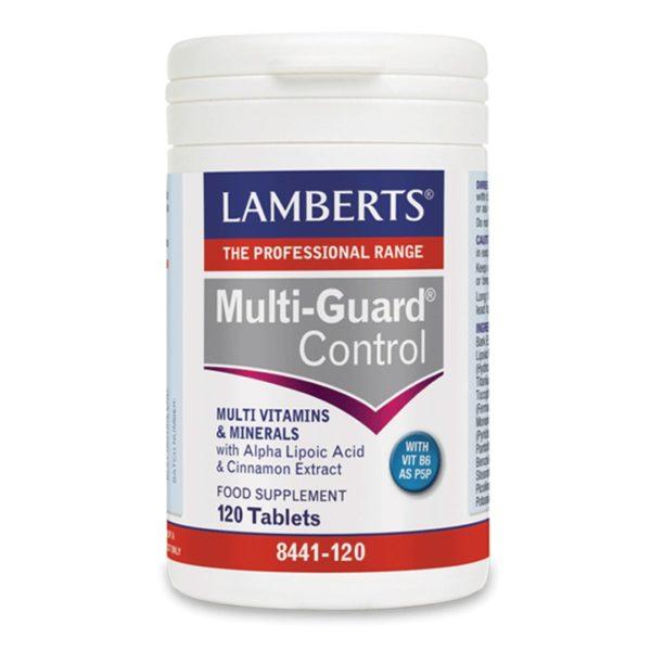 Βιταμίνες Lamberts – Συμπλήρωμα Διατροφής Υψηλής Δραστικότητας Φόρμουλα Βιταμινών & Μετάλλων – 120tabs