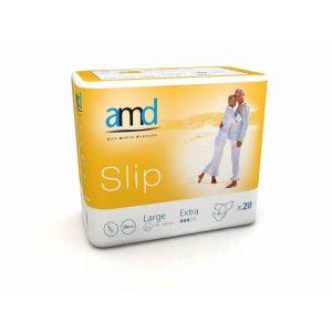 Πάνες Slip Ημέρας AMD – Αυτοκόλλητη Πάνα Ημέρας Large Extra 20τμχ REF. 11033000