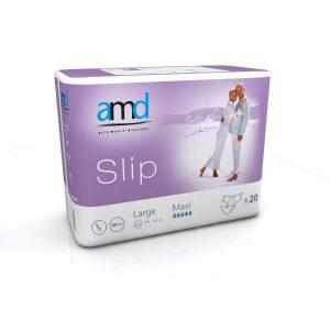 Κατ' οίκον Νοσηλεία AMD – Αυτοκόλλητη Πάνα Slip Νύχτας Maxi Large – 20τμχ