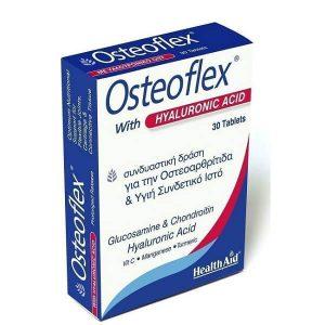 Άθληση - Κακώσεις Health Aid Osteoflex με Υαλουρονικό Οξύ για Οστεοαρθρίτιδα και Υγιή Συνδετικό Ιστό 30 Ταμπλέτες