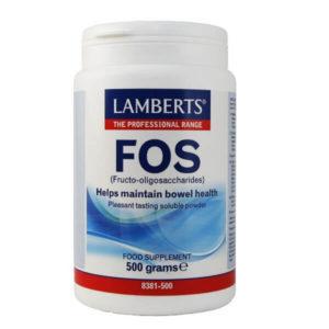 Πρωτεΐνες - Υδατάνθρακες Lamberts – Φρουκτο Ολιγοσακχαρίτες Αύξηση των Βακτηρίων της Εντερικής Χλωρίδας σε Σκόνη – 500gr
