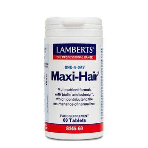 Βιταμίνες Lamberts – Συμπλήρωμα Διατροφής Πολυβιταμίνης για την Ενίσχυση του Θυλάκου της Τρίχας και την Υγεία των Μαλλιών – 60tabs