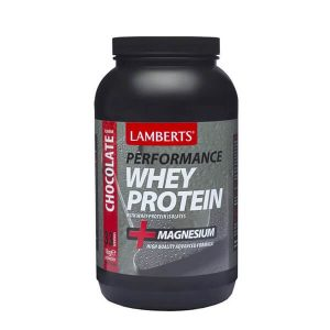 Διατροφή & Υγεία Lamberts – Υψηλής Ποιότητας και Καθαρότητας Πρωτεΐνη Ορού Γάλακτος με Γεύση Σοκολάτας – 1000gr