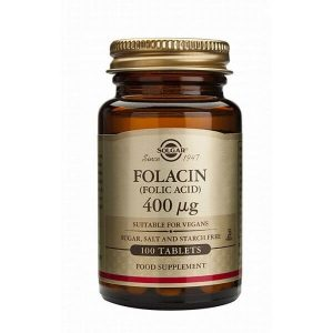 Διατροφή & Υγεία Solgar – Φολλικό Οξύ 400mg – 100tabs