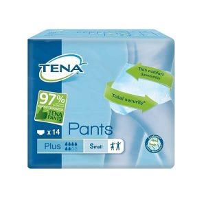Βρακάκι Pant Νύχτας Tena – Πάνα Βρακάκι Ενηλίκων Plus Small – 14τμχ