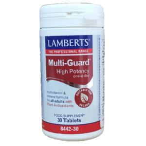 Διατροφή & Υγεία Lamberts – Πολυβιταμινούχο Σκεύασμα Υψηλής Δραστικότητας – 30tabs