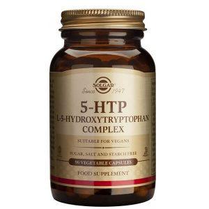 Βιταμίνες Solgar – 5-HTP Yδροξυλιωμένη Tρυπτοφάνη 100mg Συμπλήρωμα Διατροφής Απαραίτητο για την Καλή Υγεία του Εγκεφάλου – 90 veg.caps