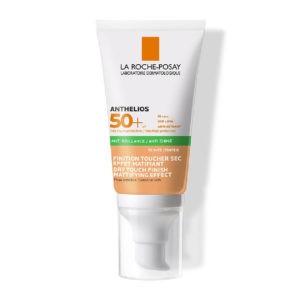 Αντηλιακά Προσώπου La Roche Posay – Anthelios Anti-Shine Tinted Dry Touch Gel Cream Αντηλιακή Κρέμα Προσώπου Ματ με Χρώμα SPF50+ 50ml