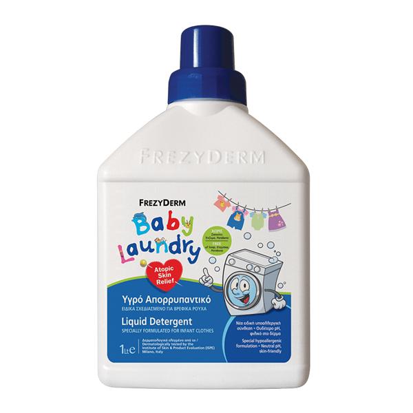 Σαμπουάν - Αφρόλουτρα Βρεφικά Frezyderm Atoprel Baby Laundry Βρεφικό Απορρυπαντικό 1lit