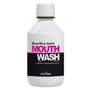 Φαρμακείο Frezyderm Sensitive Teeth Mouthwash Στοματικό Διάλυμα 250ml