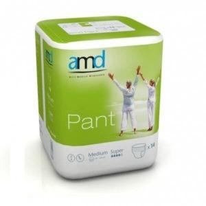 Βρακάκι Pant Νύχτας AMD – Απορροφητικό Βρακάκι Nύχτας Medium Super 14τμχ REF. 22024100