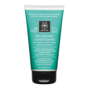 Woman Apivita Balancing Conditioner Oily Roots & Dry Ends Nettle & Propolis – 150ml