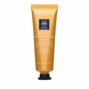 Woman Apivita Face Mask With Royal Jelly – 50ml
