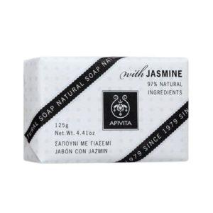 Γυναίκα Apivita Natural Soap με Γιασεμί – 125gr
