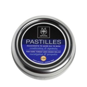 Άνοιξη Apivita Pastilles Παστίλιες με ευκάλυπτο & πρόπολη – 45gr