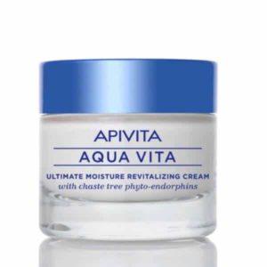 Woman Apivita Aqua Vita Ultimate Cream Normal/Dry 50ml