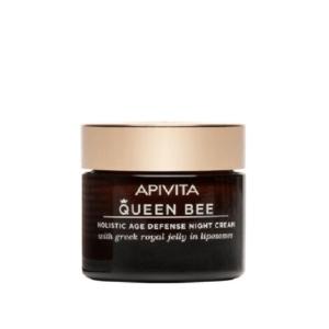 Περιποίηση Προσώπου Apivita Queen Bee Κρέμα Νύχτας Ολιστικής Αντιγήρανσης 50ml