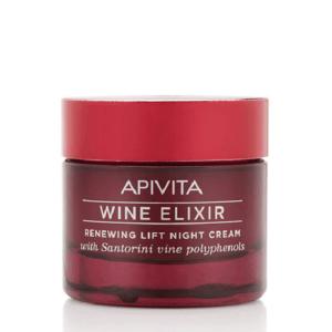 Γυναίκα Apivita Wine Elixir Κρέμα Νύχτας για Ανανέωση και Lifting 50ml