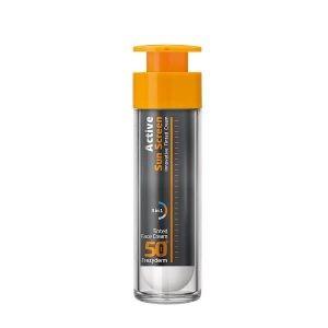 Αντηλιακά Προσώπου Frezyderm – Αντηλιακή Κρέμα Προσώπου με Χρώμα SPF50+ 50ml