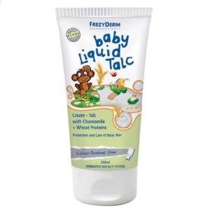 Βρεφική Φροντίδα Frezyderm Baby Liquid Talc Κρέμα Τάλκ 150ml