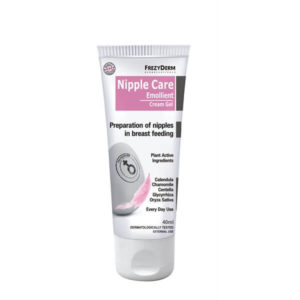 Εγκυμοσύνη - Νέα Μαμά Frezyderm Nipple Care Emollient Cream Gel Κρέμα Για Περιποίηση & Προστασία των Θηλών – 40ml