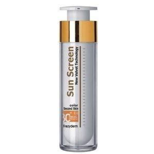 Αντηλιακά Προσώπου Frezyderm – Sunscreen Color Velvet Αντηλιακό Προσώπου με Χρώμα SPF30 50ml