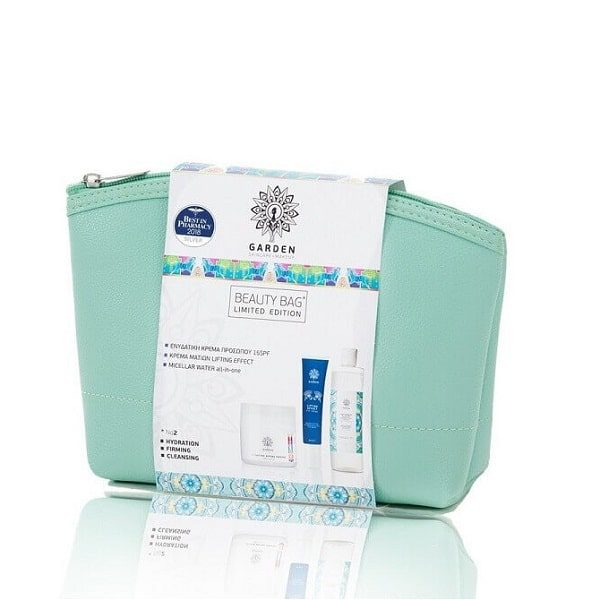 Αντιγήρανση - Σύσφιξη Garden Of Panthenols Beauty Bag Ενυδατική κρέμα 50ml -Κρέμα ματιών 30ml -Micellar Water 100ml No2