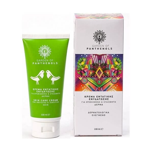 b5916a9691 Garden Of Panthenols Skin Care Cream Ενυσχιμένη Κρέμα Εντατικής Ενυδάτωσης  - 100ml