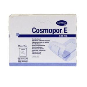 Βοηθήματα Κατάκλισης Hartmann – Cosmopor E 10x8cm Αυτοκόλλητο Αποστειρωμένο Επίθεμα Τραυμάτων – 25τμχ
