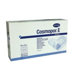 Βοηθήματα Κατάκλισης Hartmann – Cosmopor E 15x8cm Αυτοκόλλητο Αποστειρωμένο Επίθεμα Τραυμάτων – 25τμχ