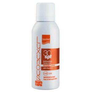 4Εποχές Intermed – Αντηλιακό Αντιοξειδωτικό Διάφανο Spray Σώματος SPF30 με Βιταμίνη C 100ml