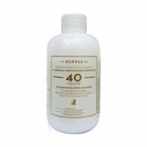 Γυναίκα Korres Abyssinia Superior Gloss Colorant Γαλάκτωμα Ενεργοποίησης Χρώματος 40 – 150ml