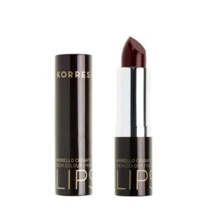 Γυναίκα Korres Morello Creamy Lipstick Ενυδατικό Κραγιόν 59 Κόκκινο της Βουργουνδίας – 3.5g