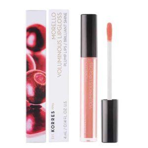 Γυναίκα Korres Morello Voluminous Lipgloss με Εξαιρετική Λάμψη & Γεμάτο Χρώμα No12 Candy Pink 4ml